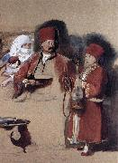 Sir David Wilkie Sotiri, Dragoman of Mr Colquhoun oil painting picture wholesale