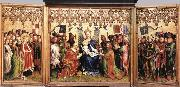 Stefan Lochner Altarpiece of the Patron Saints of Cologne oil painting picture wholesale