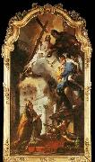 TIEPOLO, Giovanni Domenico Pope St Clement Adoring the Trinity oil painting picture wholesale