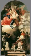 TIEPOLO, Giovanni Domenico The Virgin Appearing to St Philip Neri 1740 oil painting picture wholesale