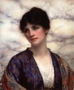 William Clarke Wontner Valeria oil painting artist
