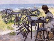 William Merrit Chase End of the Season oil painting picture wholesale