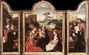 unknow artist Virgin and Child with St Catherine and St Barbara oil painting picture wholesale