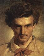 Anselm Feuerbach Self-Portrait oil