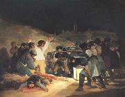 Francisco de Goya Exeution of the Rebels of 3 May 1808 oil painting picture wholesale