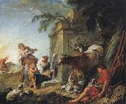 Francois Boucher La Fontaine oil painting picture wholesale