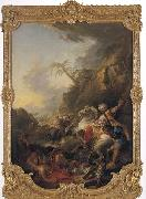 Francois Boucher The Leopard Hunt oil painting picture wholesale