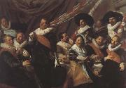 Frans Hals The Banquet of the St.George Militia Company of Haarlem  (mk45) oil painting picture wholesale