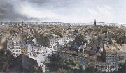 Frederic E.Church New York from the Steeple of St.Paul's Church,Looking East,South and West oil painting picture wholesale