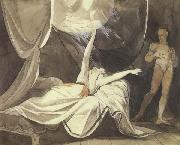 Henry Fuseli Kriemhilde Sees the Dead Sikegfried in a Dream (mk45) oil painting picture wholesale