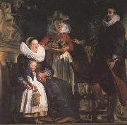 Jacob Jordaens The Artst and his Family (mk45) oil painting picture wholesale