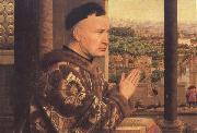 Jan Van Eyck Details of The Virgin of Chancellor Rolin (mk45) oil painting picture wholesale