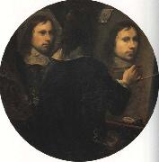 Johannes Gumpp Self-Portrait oil painting artist