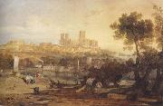 Joseph Mallord William Turner Lincoin from the Brayford (mk47) oil painting picture wholesale