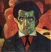 Kazimir Malevich Self-Portrait oil painting artist