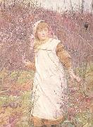 Lionel Percy Smythe,RA,RWS Springtime (mk46) oil painting picture wholesale