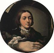 PARMIGIANINO Self-Portrait oil painting picture wholesale