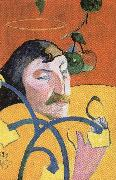 Paul Gauguin Self-Portrait with Halo oil painting picture wholesale