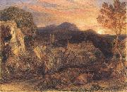 Samuel Palmer The Bellman oil painting picture wholesale