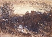 Samuel Palmer A Towered City or The Haunted Stream oil painting picture wholesale