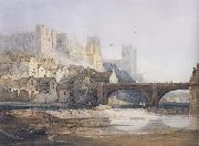 Samuel Prout Part of Durham Bridge (mk47) oil painting artist