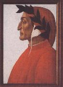 Sandro Botticelli Portrait of Dante Alighieri oil painting picture wholesale