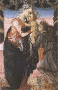 Sandro Botticelli Madonna and CHild with an Angel oil painting picture wholesale