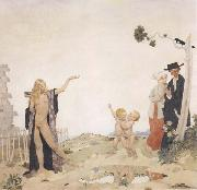 Sir William Orpen Sowing New Seed oil painting picture wholesale