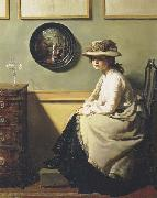 Sir William Orpen The Mirror oil painting picture wholesale