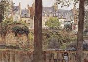 William Frederick Yeames,RA On the Boulevards-Dinan-Brittany (mk46) oil painting picture wholesale