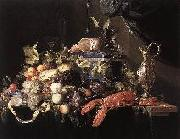 unknow artist Classical Still Life, Fruits on Table oil painting picture wholesale