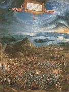 Albrecht Altdorfer the battle of lssus oil painting picture wholesale