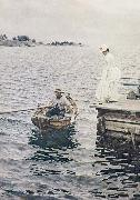Anders Zorn sommarnoje oil painting picture wholesale