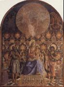 Andrea del Castagno Embrace the Son of the Virgin with Angels oil painting picture wholesale