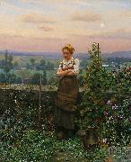 Daniel Ridgeway Knight Time to Rest oil painting picture wholesale