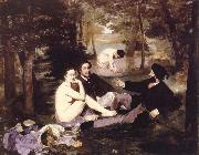 Edouard Manet le dejeuner sur l herbe oil painting picture wholesale