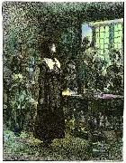 Edwin Austin Abbey Anne Hutchinson on Trial oil painting picture wholesale