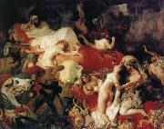 Eugene Delacroix Saar reaches death of that handkerchief Ruse oil painting picture wholesale