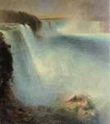 Frederick Edwin Church niagara falls oil painting
