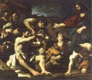 GUERCINO raising of lazarus oil painting picture wholesale