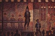 Georges Seurat taskspelarna oil painting reproduction