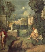 Giorgione Storm oil painting picture wholesale