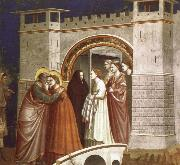 Giotto The Meeting at the Golden Gate oil painting picture wholesale
