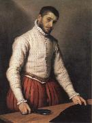 Giovanni Battista Moroni the tailor oil painting artist