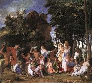 Giovanni Bellini The Feast of the Gods oil painting picture wholesale