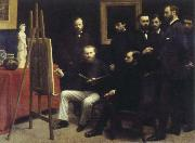 Henri Fantin-Latour studio at batignolles oil painting picture wholesale