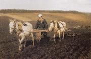Ilia Efimovich Repin Tolstoy fields oil painting picture wholesale