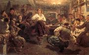Ilia Efimovich Repin Evenings oil painting picture wholesale