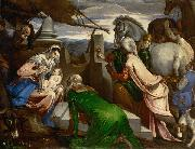 Jacopo Bassano Adoration of the magi oil painting