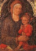 Jacopo Bellini Madonna and Child Blessing oil painting artist